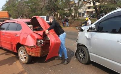 Violento accidente deja varios heridos en el Km 4,5