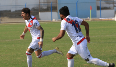 HOY / Como es hábito, Jeremías Bogado festeja un gol