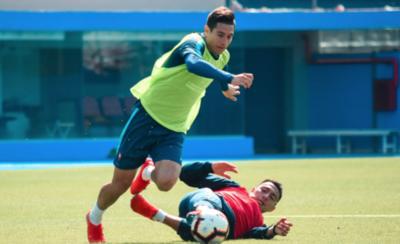 HOY / Marcos Cáceres está descartado y Ruiz puede volver