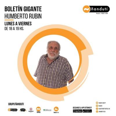 Boletín Central con Humberto Rubin