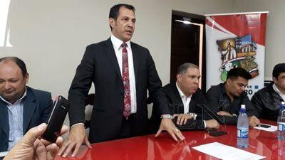 Gobernador de San Pedro presentó informe de gestión