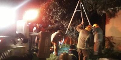 NIÑO DE 4 AÑOS MURIÓ AL CAER EN UN POZO CIEGO EN PLENO CENTRO DE NATALIO