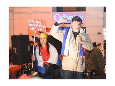 Efraín Alegre convoca a movilizaciones ante eltratamiento de juicio político