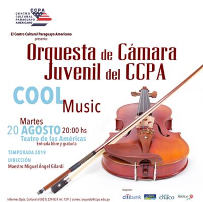 """""""Cool Music"""" de la Orquesta de Cámara Juvenil del CCPA será este martes"""