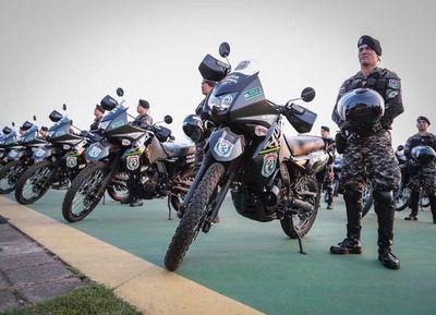 La EBY compró motos vía directa para la Policía