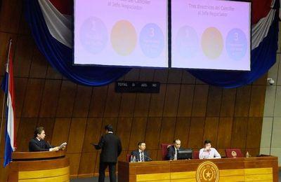 Castiglioni no convenció a legisladores por inconsistencias en sus respuestas