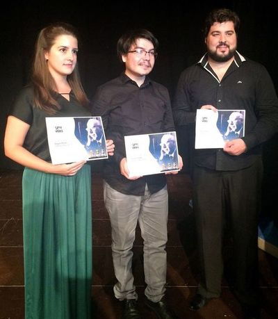 Javier Acosta fue  finalista en concurso internacional