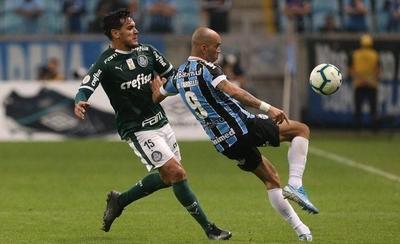 HOY / Gremio y Palmeiras, duelo brasileño en cuartos de final