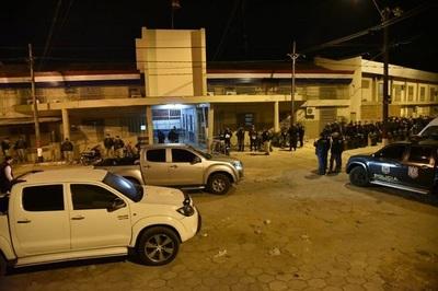 Miembros del PCC evitan allanamiento en Tacumbú