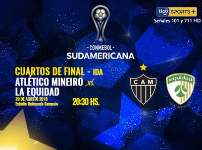 Atlético Mineiro quiere dar el primer paso