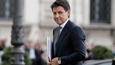 Giuseppe Conte renunció como primer ministro de Italia