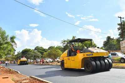 Itaipu financiará pavimentación asfáltica de calles urbanas de distrito caaguaceño