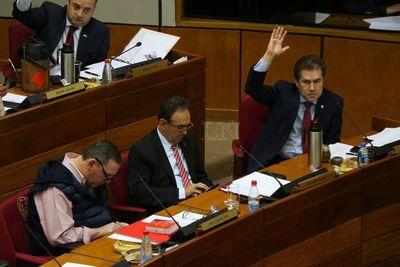 Castiglioni se reincorporó a su banca en el Senado