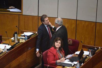 Luis Castiglioni retomó su banca en el Senado