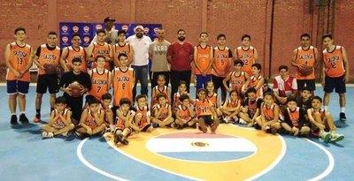 El basquet marcó presencia en el 98º aniversario del Sajonia