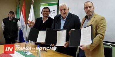 GOBERNACIÓN FIRMÓ CONVENIO CON SENAVE Y LA CAFYF