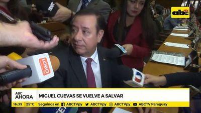 Miguel Cuevas se vuelve a salvar