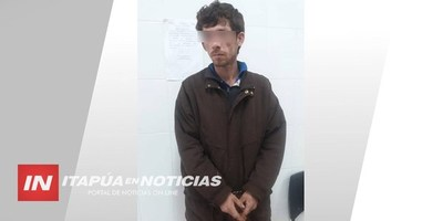 CNEL. BOGADO: EN BARRERA POLICIAL DETIENEN A SUPUESTO VIOLADOR