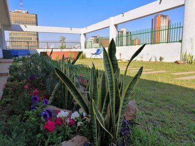 Habilitarán terraza verde dedicada a Julio Saldaña y Ricardo Migliorisi