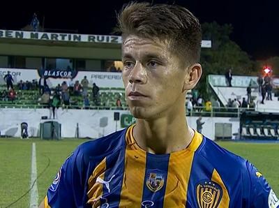 Javier Domínguez, la figura en Luqueño-Rubio Ñu