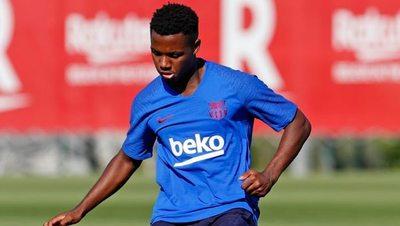 Sin Messi, el Barça prepara a la perla de la Masia