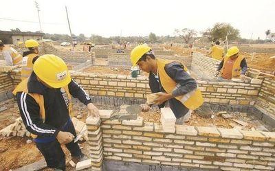Buscan 200 interesados en trabajar en obras de construcción