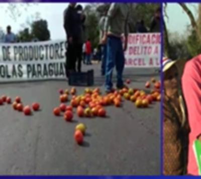 Tomateros vuelven a desactivar protesta y liberan ruta