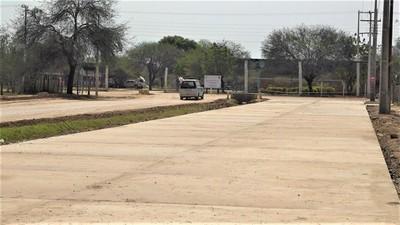 Pavimentaciones cambiarán el rostro de la ciudad de Mariscal Estigarribia