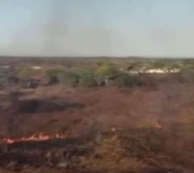 Selva amazónica en Brasil arde a velocidad récord