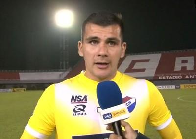 Santiago Rojas, vital en el pase de Nacional