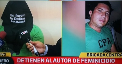 Se entrega autor confeso de feminicidio en Ñemby