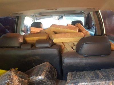 Hallan más de 500 kilos de marihuana en Canindeyú