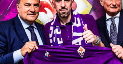 Ribéry, gran fichaje de la Fiorentina