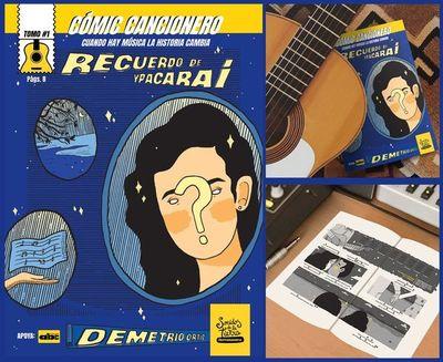 """Sonidos de la Tierra promueve sus tres """"Cómics Cancioneros"""""""