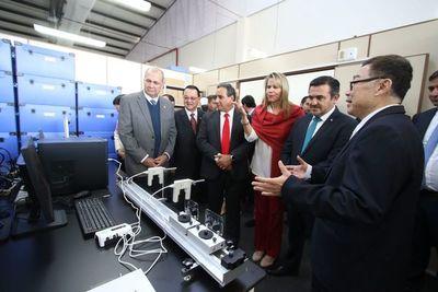 Inauguraron laboratorios de la Universidad Taiwán Paraguay