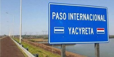 IMPACTO ECONÓMICO DE LA APERTURA DEL PASO FRONTERIZO AYOLAS – ITUZAINGÓ