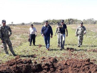Destruyen pista de aterrizaje clandestina en Ñeembucú