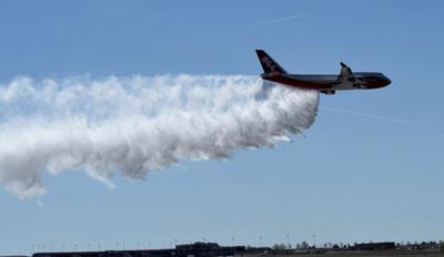 Bolivia usará el Supertankerpara mitigar incendios forestales