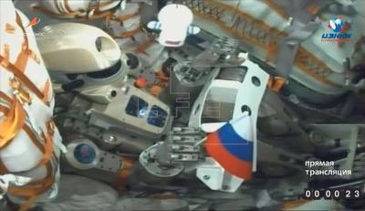 Fedor, el primer androide ruso ya está en el espacio