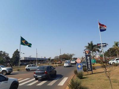 Policías de Paraguay y Brasil inician operativo de barreras en conjunto