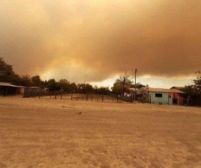 Declaran emergencia ambiental por incendio en el Pantanal Paraguayo.