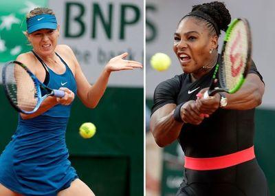 Williams y Sharapova se enfrentarán en primera ronda