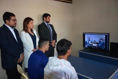 Se realizó la primera audiencia por videoconferencia en penal de CDE
