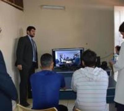 Realizan primera audiencia por videoconferencia en penal de CDE