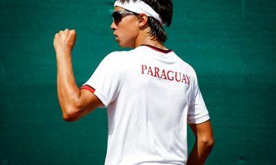 Convocan a tenista esteño para integrar equipo nacional de cara a la Copa Davis