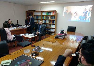 Primera audiencia vía videoconferencia con una Penitenciaría