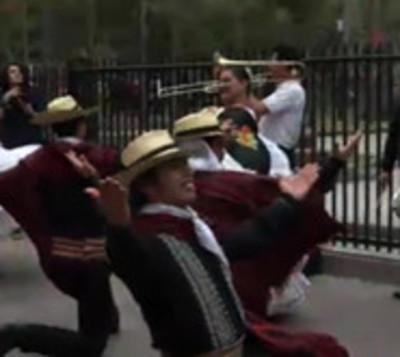 Festejan el Día del Folclore en Asunción