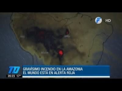 ¿Cómo nos afectaría el incendio en la Amazonia?