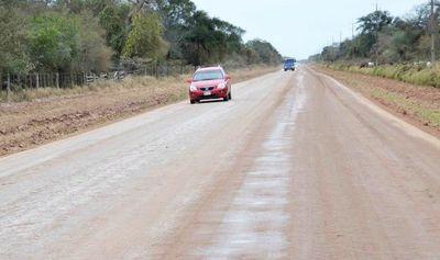 Piden asfaltado en el Chaco