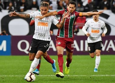 Corinthians-Fluminense, sin goles